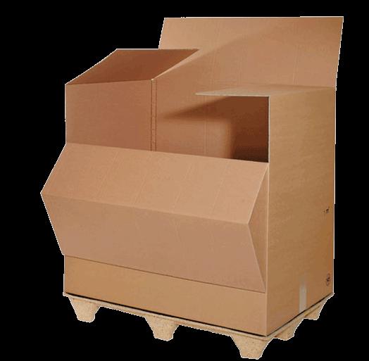 LAgerboxen in allen praktischen Größen: M-Box mit 0,2 Kubikmeter