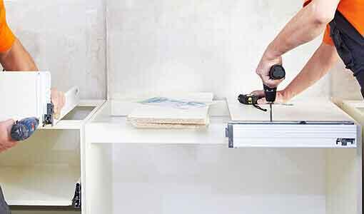 Lagerraum mieten mit Demontage und Küchendemontage