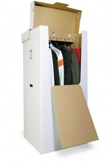 Unsere praktische Kleiderbox