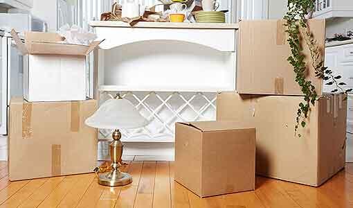 Lagerraum mieten inklusive Verpackungsservice